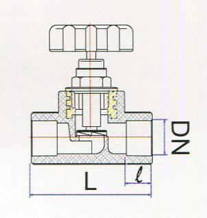 Chi tiết van nhựa pp-r uv tiền phong